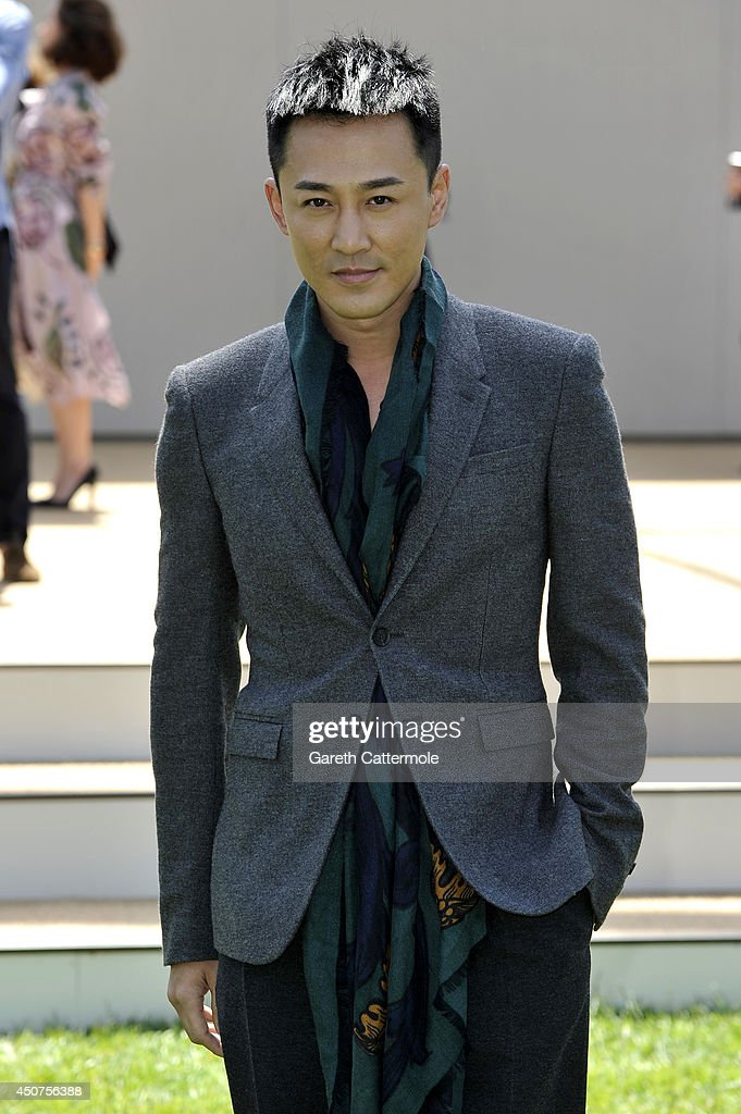 Burberry Prorsum SS15: Arrivals - London Collections: Men