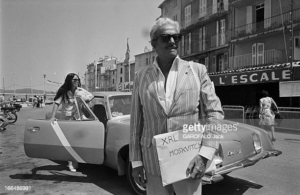 Raymond Loewy SaintTropez 5 juillet 1974 Raymond LOEWY designer industriel et graphiste français chargé de la conception de la nouvelle voiture...