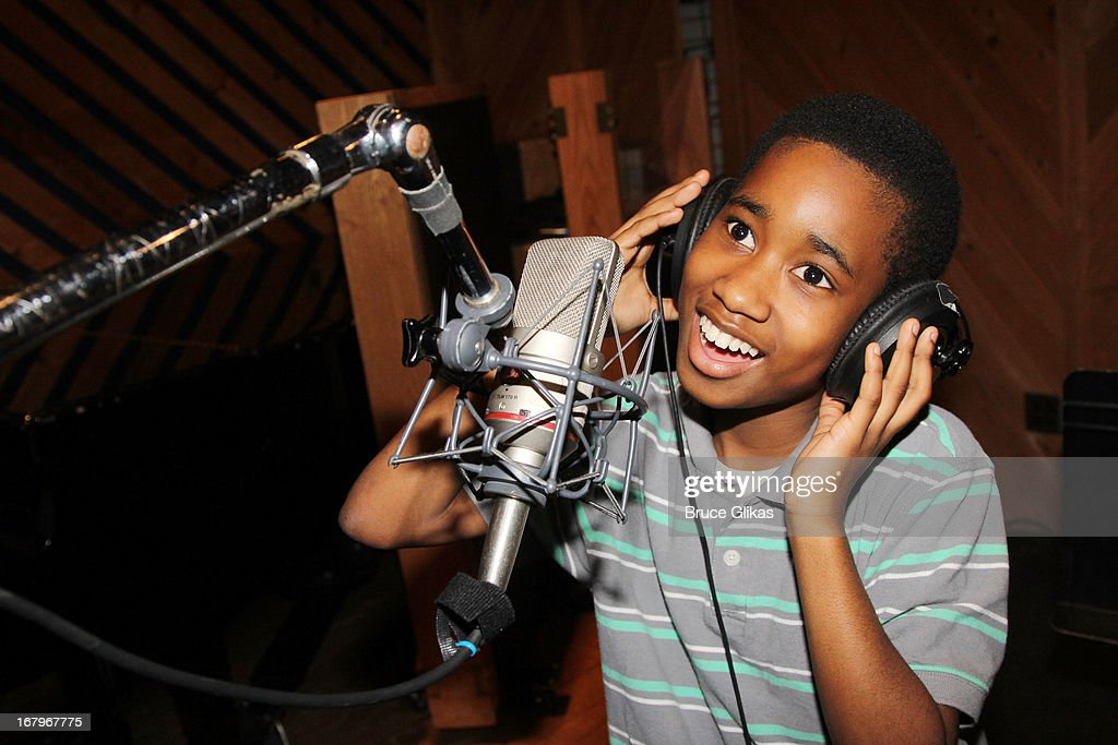 Raymond Luke Jr attends Broadway's 'Motown:The Musical' Original Broadway Cast Recording Session at MSR Studios in Times Square on May 2, 2013 in New York City.