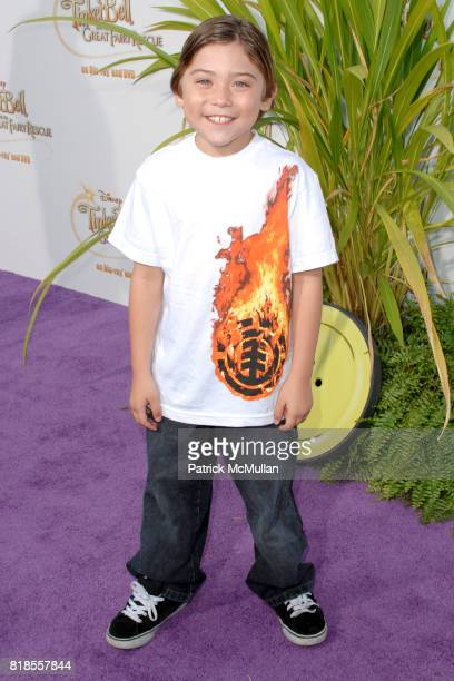 Raymond Ochoa attends Picnic In The Park For 'Tinker Bell And The Great Fairy Rescue' at La Cienega Park on August 28 2010 in Beverly Hills CA