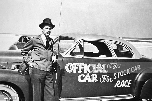 Raymond Parks brought in his own Cadillac to use as one of the Õ41 beach pace cars