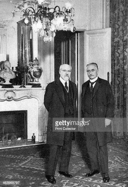 Raymond Poincare French politician 1920 Poincare was Prime Minister of France on five occasions and President of the Republic from 19131920 A...