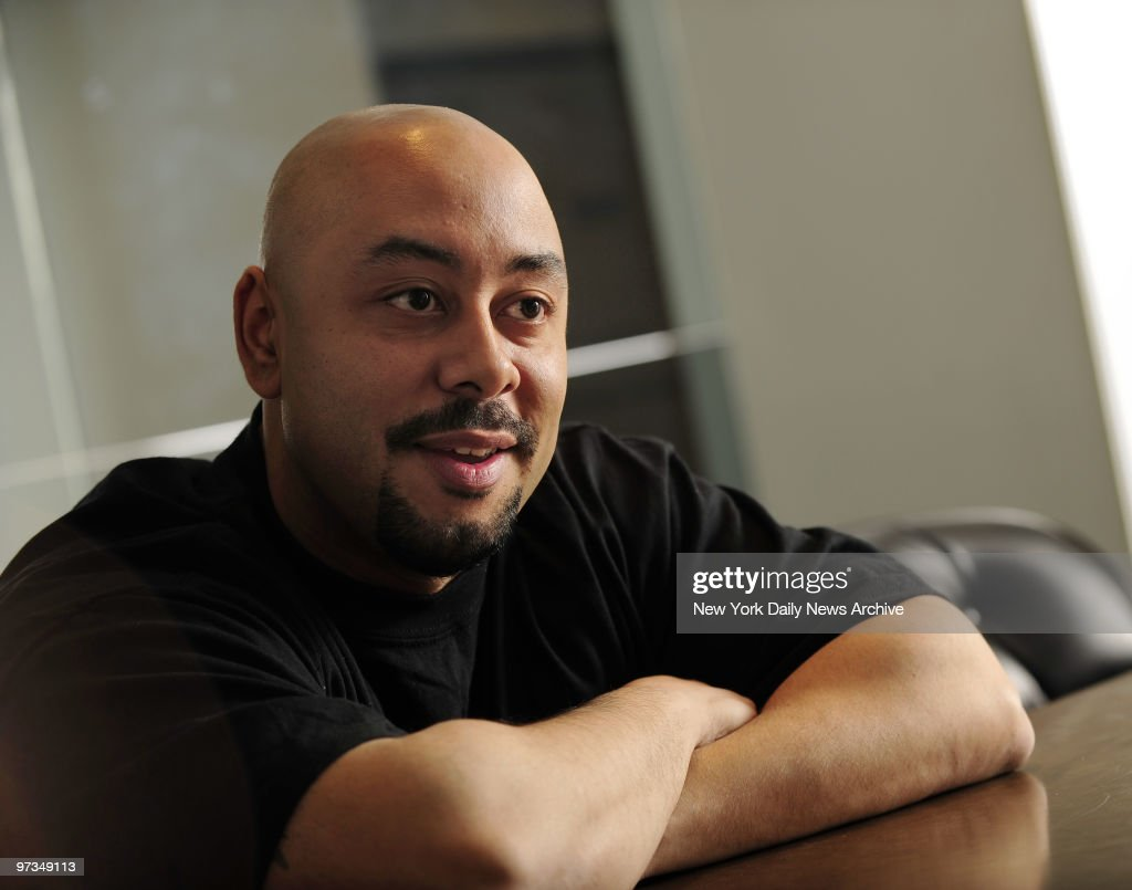Raymond Santana, exonerated in the Central Park Jogger case from 1989, in the offices of his attorney, Jonathan Moore.