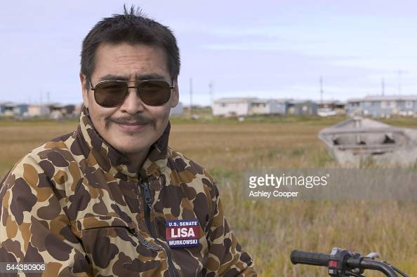 Raymond Weyiouanna became the Worlds first refugee from global warming after his house was washed into the sea in 1998 on the Inuit island of...