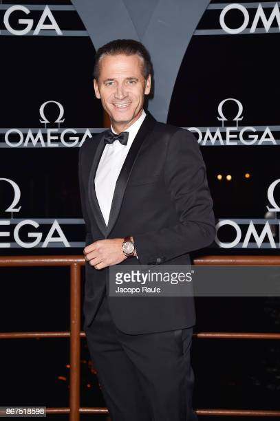 Raynald Aeschlimann attends the OMEGA Aqua Terra at Palazzo Pisani Moretta on October 28 2017 in Venice Italy