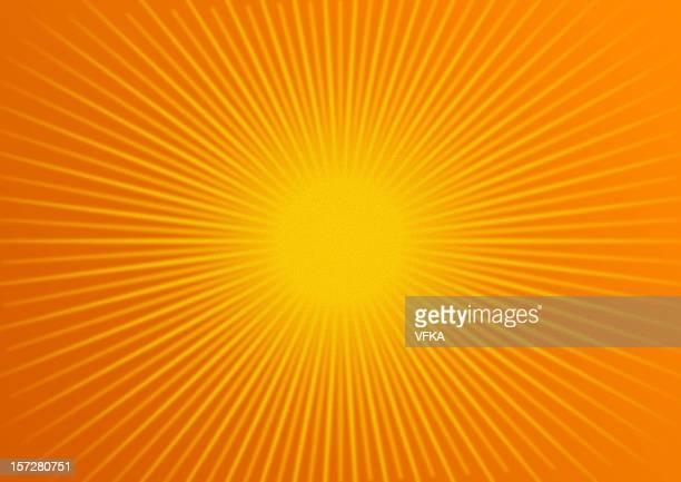 rays: tangerine