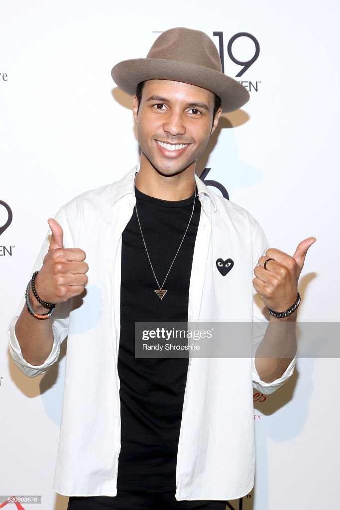 Rayvon Owen attends Chaz Dean summer party benefiting Love Is Louder on August 12, 2017 in Los Angeles, California.