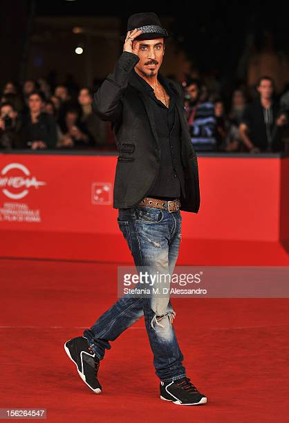 Raz Degan attends 'The Lookout' Premiere during the 7th Rome Film Festival at the Auditorium Parco Della Musica on November 12 2012 in Rome Italy