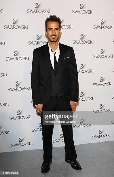 Raz Degan attends the Swarovski Fashionation at Palazzo Reale on June 7 2011 in Milan Italy