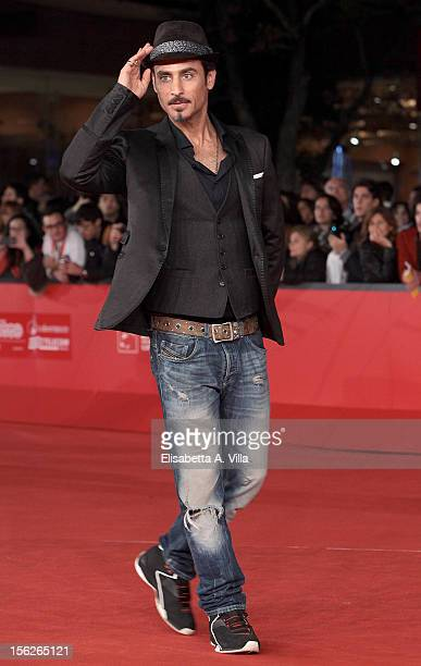 Raz Degan attends the 'The Lookout' Premiere during the 7th Rome Film Festival at Auditorium Parco Della Musica on November 12 2012 in Rome Italy