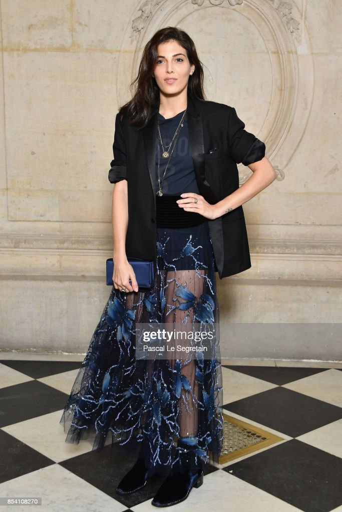 Christian Dior : Photocall  - Paris Fashion Week Womenswear Spring/Summer 2018