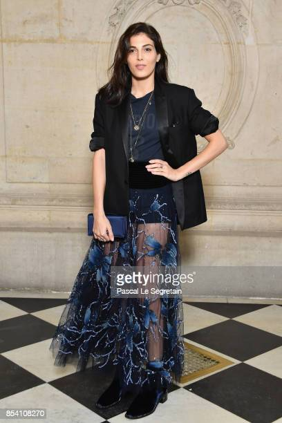 Razane Jammal attends the Christian Dior show as part of the Paris Fashion Week Womenswear Spring/Summer 2018 on September 26 2017 in Paris France