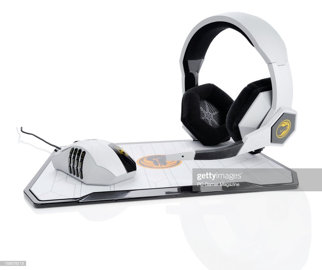 A Razer peripherals set designed for the Star Wars: The Old Republic gaming franchise, taken on February 7, 2012.