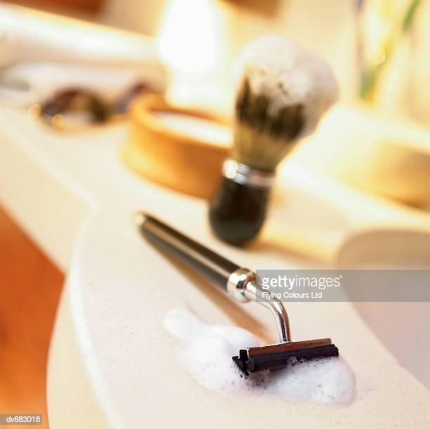 Razor and Shaving Brush