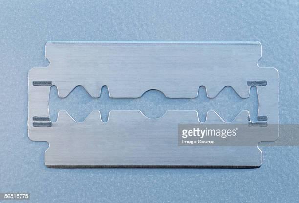 A razor blade