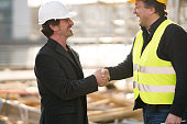 Reaching an agreement on construction site