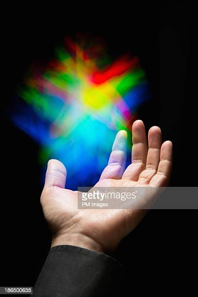 Reaching for colored light