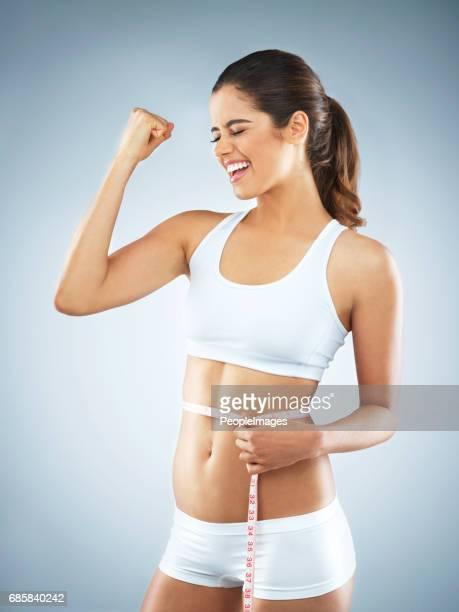 彼女の健康の目標を達成