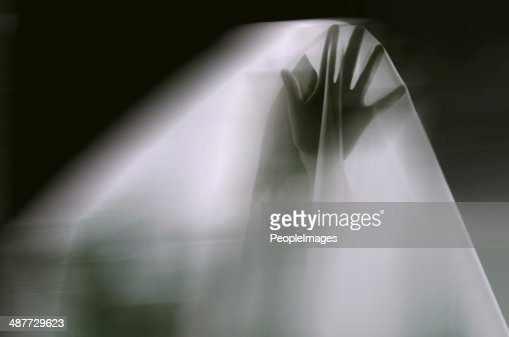 Reaching out from the beyond : Stock Photo
