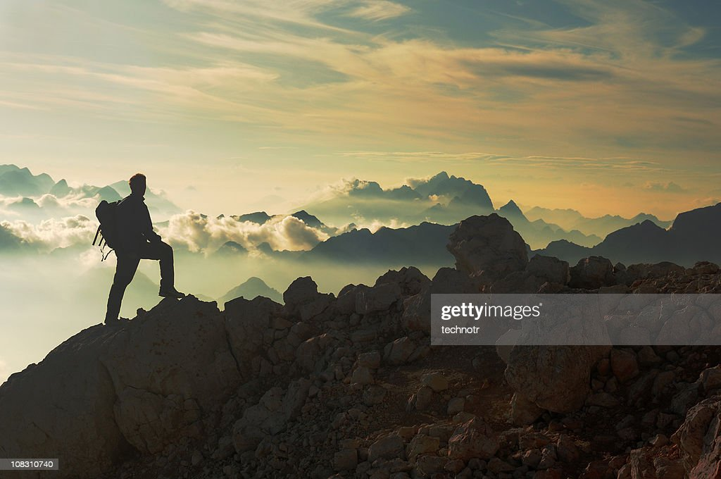 Atteindre le sommet de la montagne : Photo