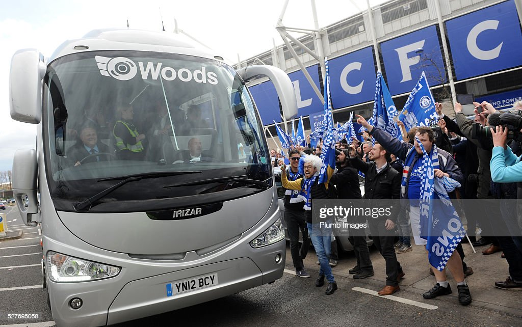 Reactions to Leicester City's Premier League Title Success on May 3, 2016 in Leicester, United Kingdom.