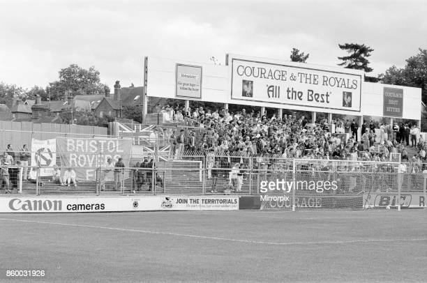 Reading 32 Bristol Rovers league match at Elm Park Monday 26th August 1985