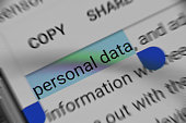 Reading about Personal Data security online
