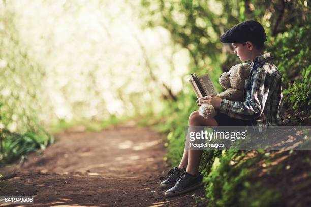 Reading and nature are his two favourite things