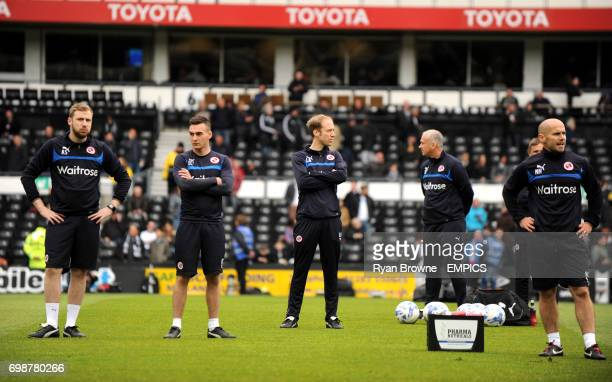 Reading Assistant Kit Manager Adam Sage Assistant Sports Scientist Edward Clarke Head of Sports Medicine Luke Anthony and Head of Sports Science Nick...
