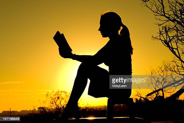Reading at Sunset 2