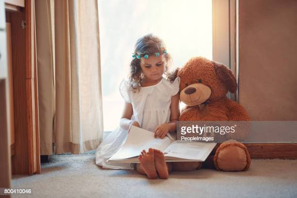 Reading can brighten a child's imagination