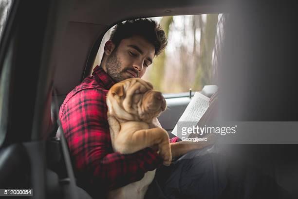 Reading favorite book