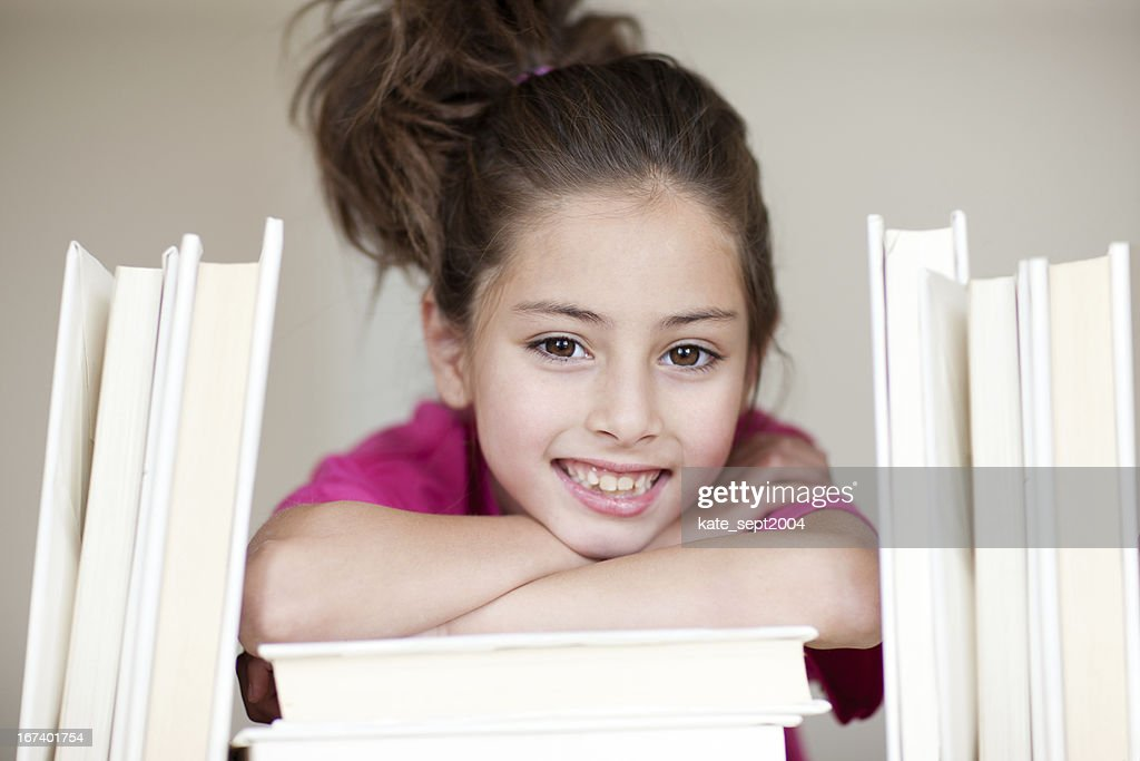 Reading kid : Stock Photo