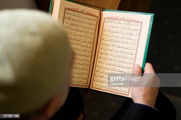 Reading Koran in Mosque