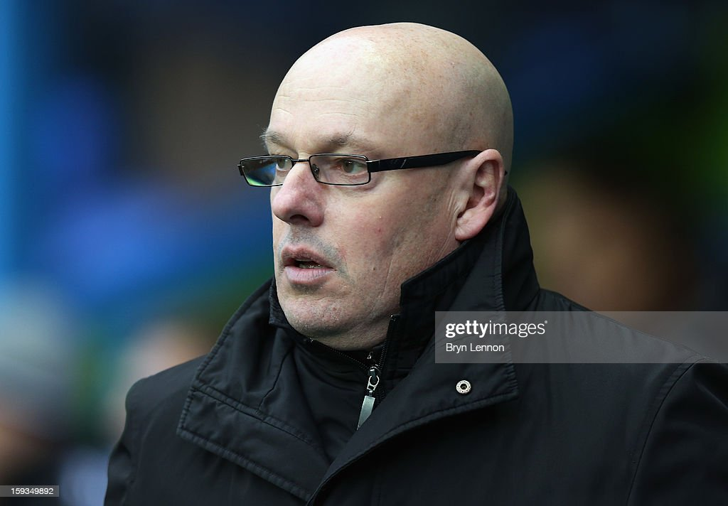 Reading Manager Brian McDermott looks on prior to the Barclays Premier League match between Reading and West Bromwich Albion at the Madejski Stadium on January 12, 2013 in Reading, England.