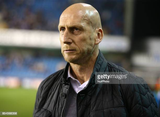 Reading manager Jaap Stam during Sky Bet Championship match between Millwall against Reading at The Den London on 26 Sept 2017