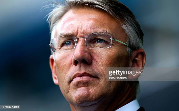 Reading manager Nigel Adkins looks on prior to the Sky Bet Championship match between Reading and Ipswich Town at the Madejski Stadium on August 03...