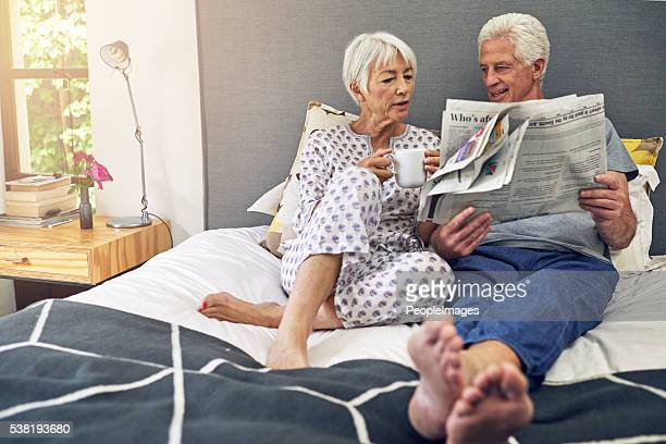 Reading newspaper enhances relaxation