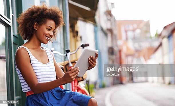 Lesung in einem ruhigen Sommer's day