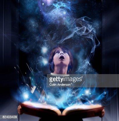 Reading sparks imagination