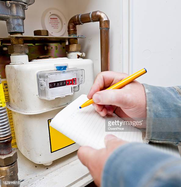 Reading the  Gas Meter