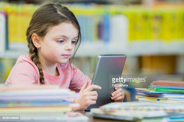 Reading With A Tablet