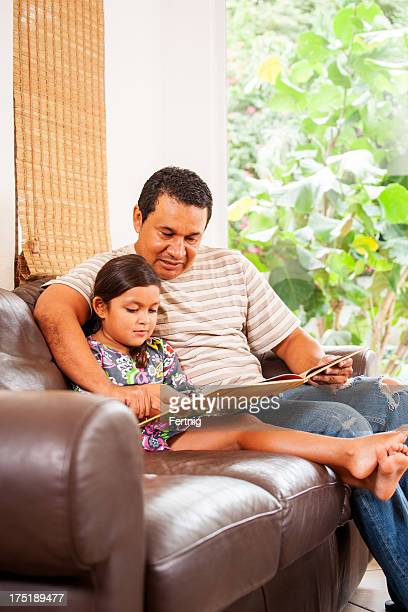 Reading with dad