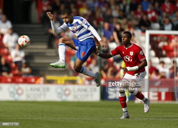 Reading's Michael Hector and Bristol City's Jonathan Kodjia