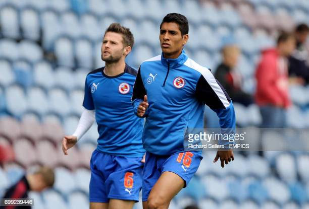 Reading's Paolo Hurtado and Oliver Norwood