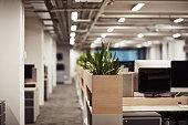 Shot of an empty office