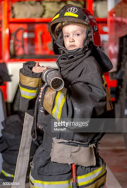 Ready for fire fighting