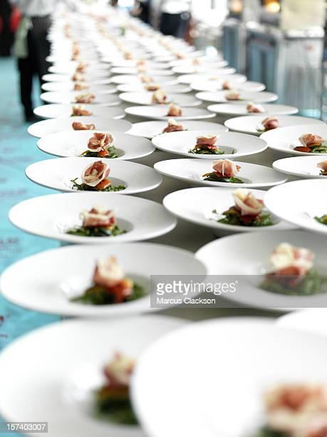 Listo para banquetes