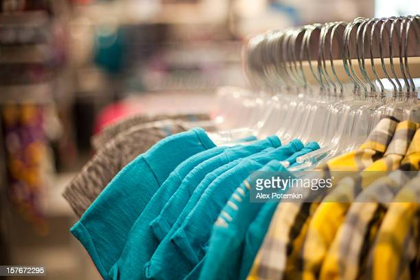 Ready made others on a clothes rack