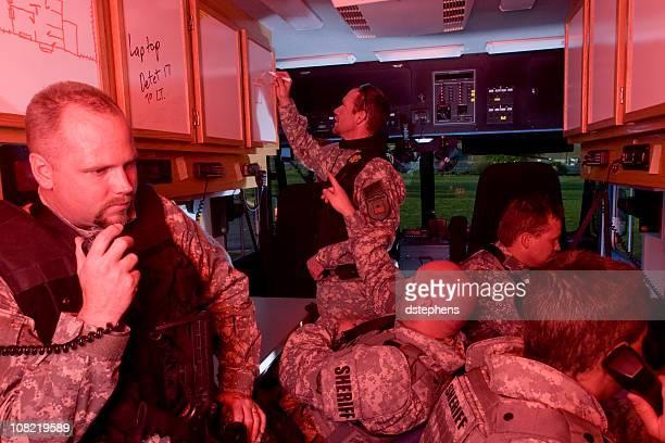 SWAT prêt chambre